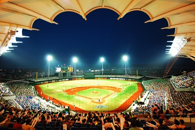 Chinese professional baseball league opened its 23rd season in Taichung