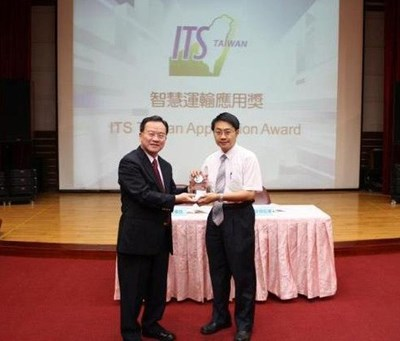 Taichung Dynamic Bus Information System won 2012 ITS Application Award