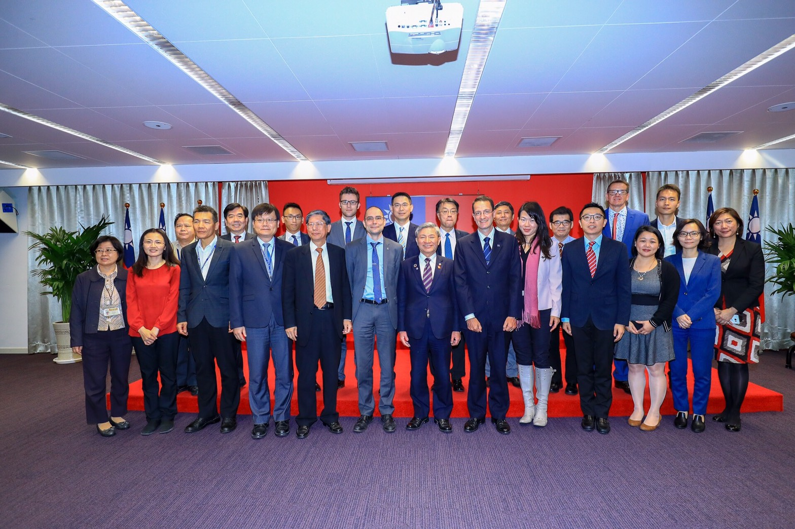 European Chamber of Commerce Taiwan visits Taichung City Government to discuss wind power industry collaborations – Deputy Mayor Chang: Full support for investments and talent cultivation